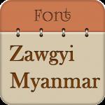 Free Download Zawgyi Myanmar Fonts Free 11.0 APK