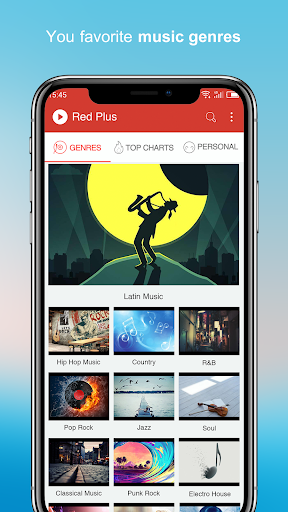 Free Music – Red Plus v1.89 screenshots 4