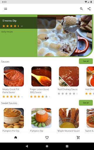 Free Sauce Dip Jam Recipes v5.03 screenshots 11
