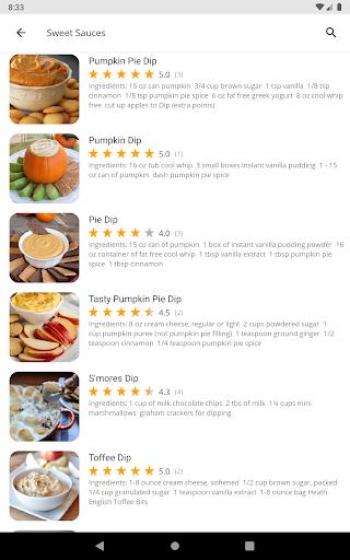 Free Sauce Dip Jam Recipes v5.03 screenshots 12