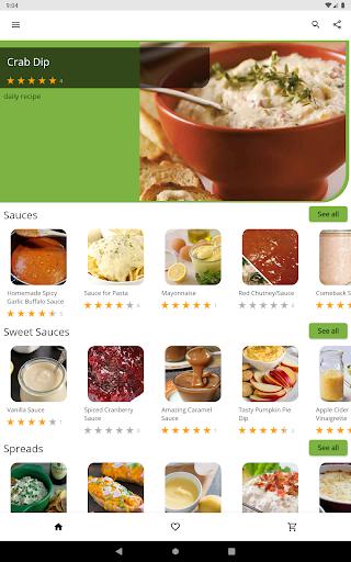 Free Sauce Dip Jam Recipes v5.03 screenshots 5