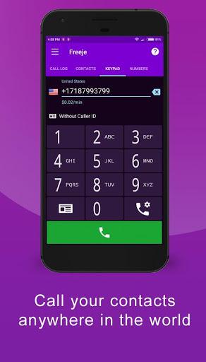 Freeje Virtual SIM – International Business Number v2.1.1.116 screenshots 1