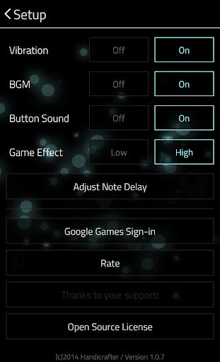 Full of Music 1 MP3 Rhythm Game v1.9.5 screenshots 4