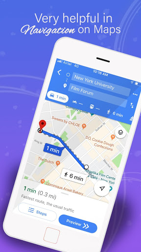 GPS Maps Voice Navigation amp Directions v11.44 screenshots 4