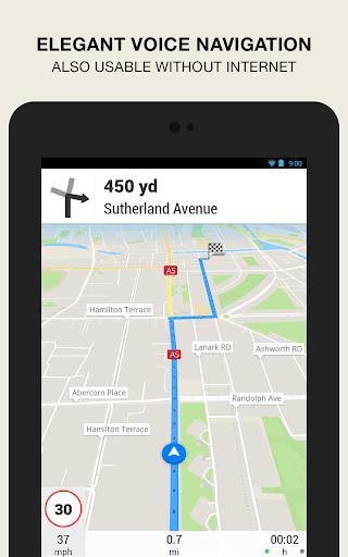 GPS Navigation amp Maps – Scout v8.0 screenshots 14
