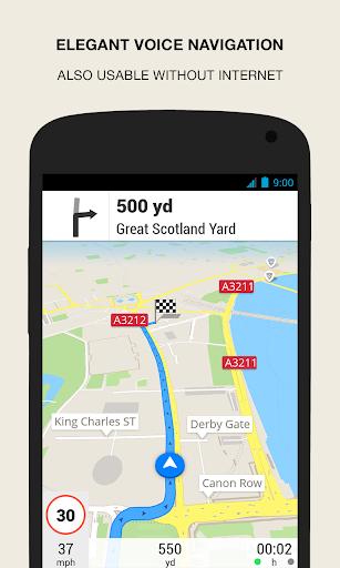 GPS Navigation amp Maps – Scout v8.0 screenshots 2