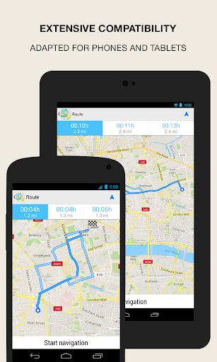 GPS Navigation amp Maps – Scout v8.0 screenshots 4