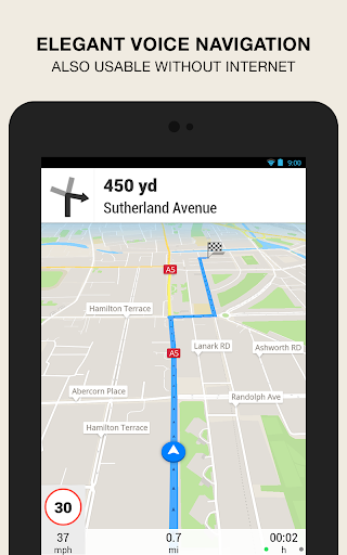 GPS Navigation amp Maps – Scout v8.0 screenshots 6