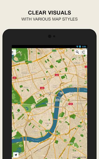 GPS Navigation amp Maps – Scout v8.0 screenshots 9