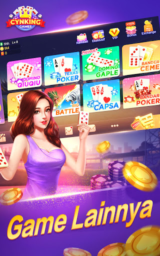 Gaple-Domino QiuQiu Poker Capsa Slots Game Online v2.19.0.0 screenshots 1