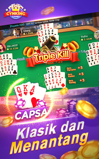 Gaple-Domino QiuQiu Poker Capsa Slots Game Online v2.19.0.0 screenshots 4