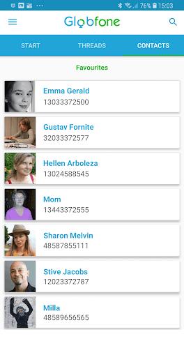 Globfone SMS Messenger v1.0.5 screenshots 2