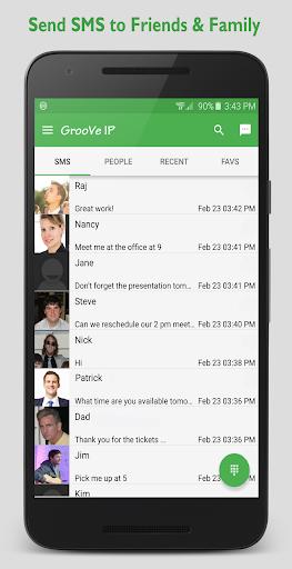 GrooVe IP VoIP Calls amp Text v4.3.2 screenshots 2