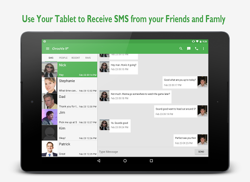 GrooVe IP VoIP Calls amp Text v4.3.2 screenshots 5