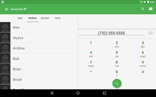 GrooVe IP VoIP Calls amp Text v4.3.2 screenshots 7
