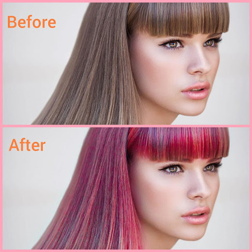 Hair color changer – Try different hair colors v1.10 screenshots 1