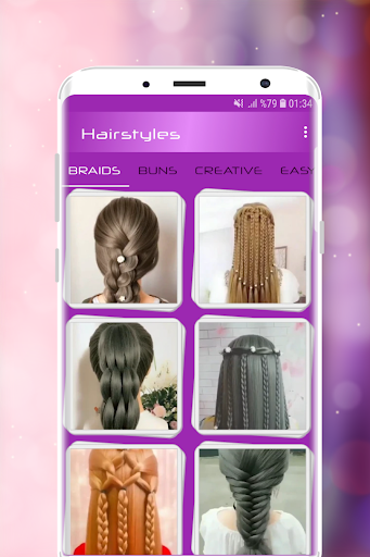 Hairstyles Step by Step Videos Offline v1.6.1 screenshots 1