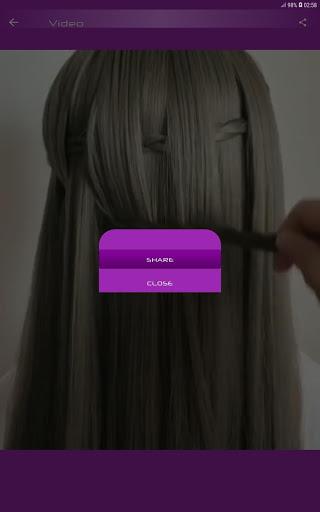 Hairstyles Step by Step Videos Offline v1.6.1 screenshots 10