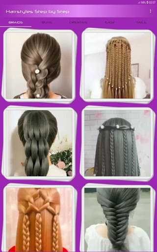 Hairstyles Step by Step Videos Offline v1.6.1 screenshots 5