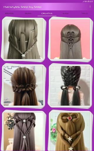Hairstyles Step by Step Videos Offline v1.6.1 screenshots 6