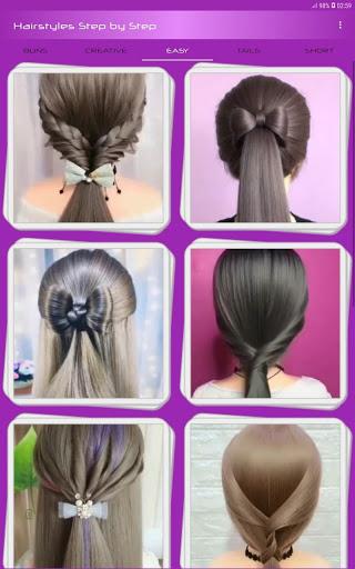 Hairstyles Step by Step Videos Offline v1.6.1 screenshots 7