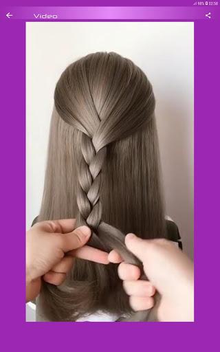 Hairstyles Step by Step Videos Offline v1.6.1 screenshots 8