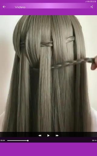 Hairstyles Step by Step Videos Offline v1.6.1 screenshots 9