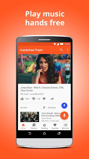 Handsfree Player – Play Music amp Videos Free v5.0 Build 1 screenshots 2