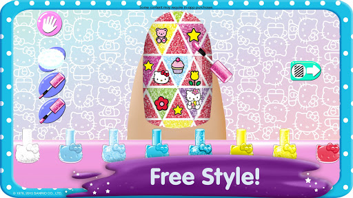 Hello Kitty Nail Salon v1.11 screenshots 2