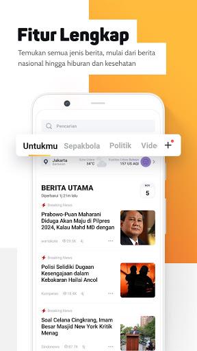 Helo BaBe – Baca Berita v16.0.1.02 screenshots 1