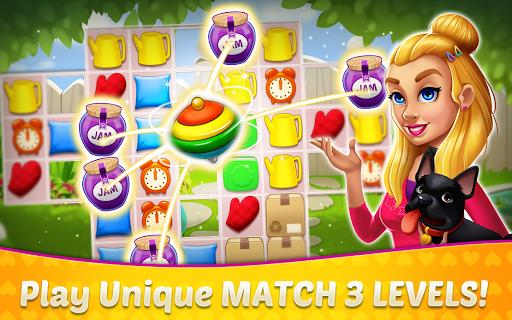 Home Design amp Mansion Decorating Games Match 3 v screenshots 11