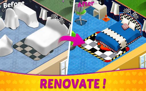 Home Design amp Mansion Decorating Games Match 3 v screenshots 2