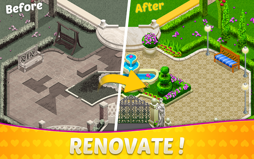 Home Design amp Mansion Decorating Games Match 3 v screenshots 8