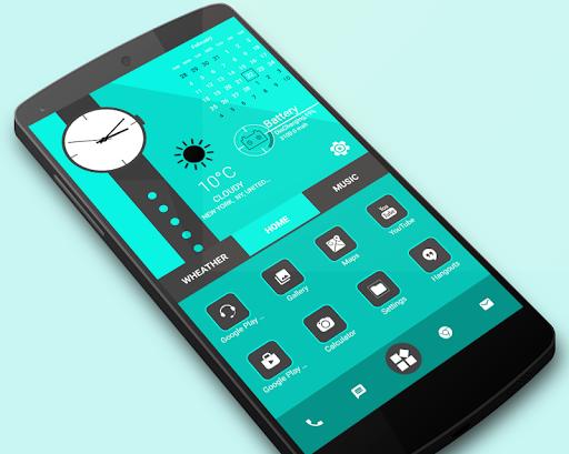 Home Launcher 2021 – App lock Hide App v screenshots 1