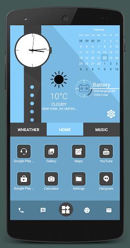 Home Launcher 2021 – App lock Hide App v screenshots 11