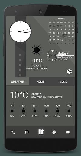Home Launcher 2021 – App lock Hide App v screenshots 4
