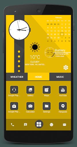Home Launcher 2021 – App lock Hide App v screenshots 7