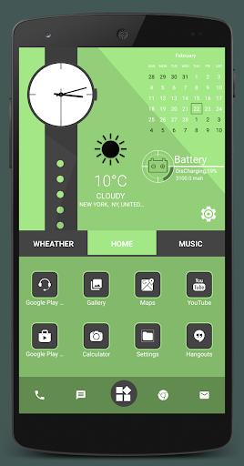 Home Launcher 2021 – App lock Hide App v screenshots 8