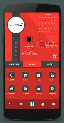 Home Launcher 2021 – App lock Hide App v screenshots 9