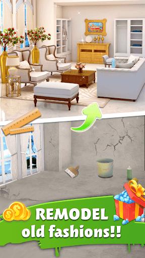 Home Memory Word Cross amp Dream Home Design Game v1.0.7 screenshots 7