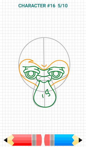 How to Draw Graffiti Characters v2.1 screenshots 12
