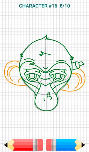 How to Draw Graffiti Characters v2.1 screenshots 13