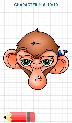 How to Draw Graffiti Characters v2.1 screenshots 14