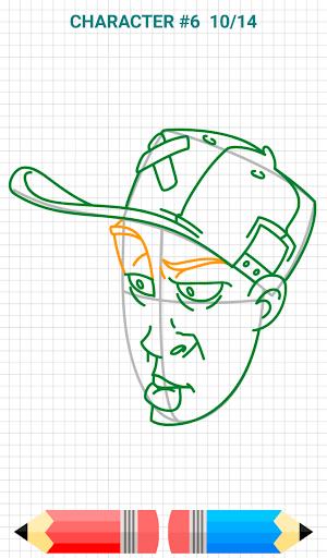 How to Draw Graffiti Characters v2.1 screenshots 7