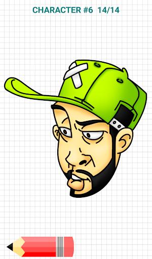 How to Draw Graffiti Characters v2.1 screenshots 8