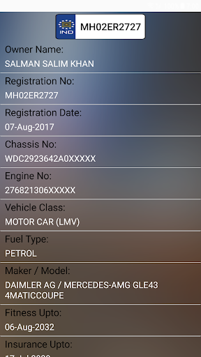 How to find Vehicle Car Owner detail from Number v4.0.0 screenshots 5