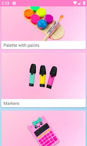 How to make miniature school supplies v2.7 screenshots 1