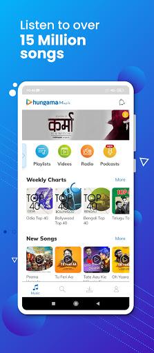 Hungama Music – Stream amp Download MP3 Songs v5.2.30 screenshots 1