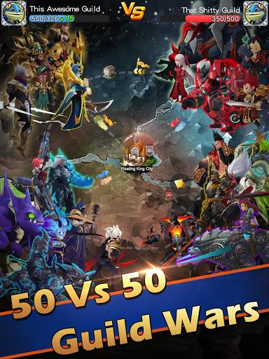 Hyper Heroes Marble-Like RPG v1.0.6.2011241425 screenshots 17