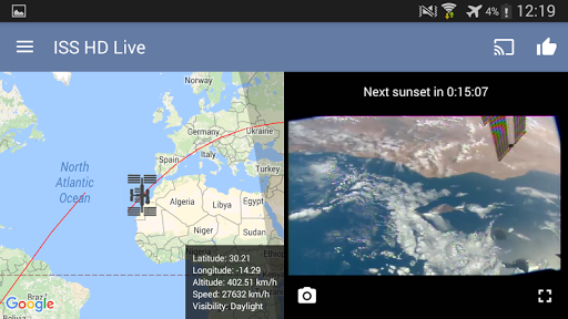 ISS Live Now Live HD Earth View and ISS Tracker v6.2.2 screenshots 12